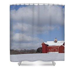 Big Sky Farm Shower Curtain
