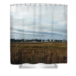 Big Sky In Belford Nj Shower Curtain