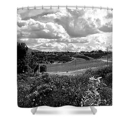 Big Sky In Socal Shower Curtain