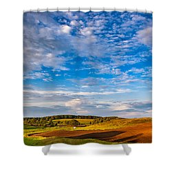 Big Sky Ontario Shower Curtain by Steve Harrington