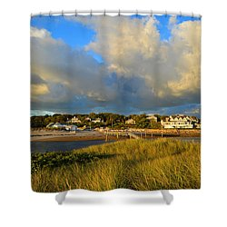 Big Sky Over Sesuit Harbor Shower Curtain
