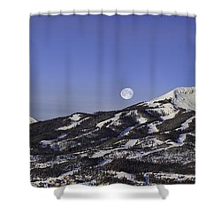 Big Sky Panorama Shower Curtain