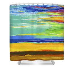 Big Sky Shower Curtain by Stephen Anderson