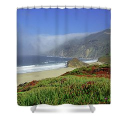 Big Sur 3 Shower Curtain
