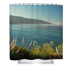 Big Sur At Lucia, Ca Shower Curtain