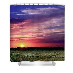 Big Texas Sky Shower Curtain