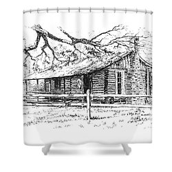 Big Thicket Information Center Shower Curtain