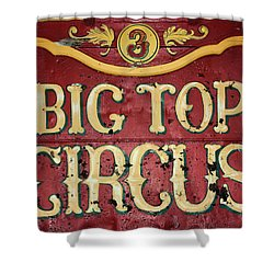 Big Top Circus Shower Curtain