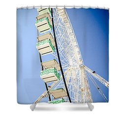 Shower Curtain featuring the photograph Big Wheel by Jason Smith
