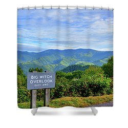 Big Witch Shower Curtain