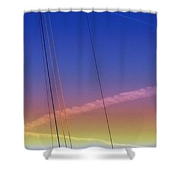 Big Zee  Shower Curtain by Serge Averbukh