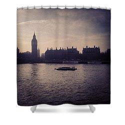 #bigben #london Shower Curtain