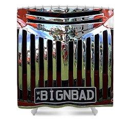 Bignbad Chevrolet Grille 01 Shower Curtain
