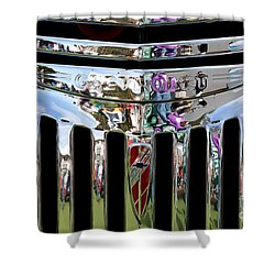 Chevrolet Grille 02 Shower Curtain