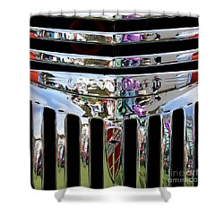 Chevrolet Grille 03 Shower Curtain