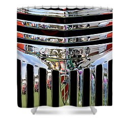 Chevrolet Grille 04 Shower Curtain