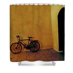 Bike Art Shower Curtain