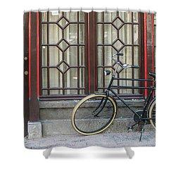 Bike In Amsterdam Shower Curtain