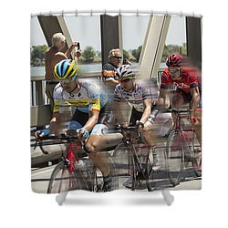 Bike Race Shower Curtain