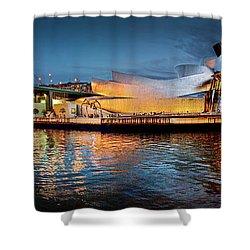 Bilbao Guggenheim Shower Curtain