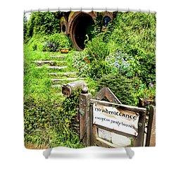 Bilbo's Hobbit Hole Shower Curtain