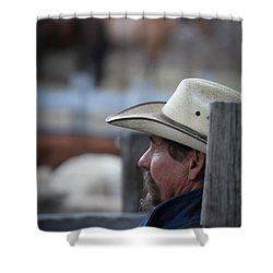 Bill Shower Curtain by Diane Bohna