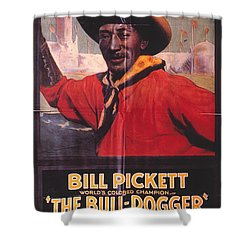 Bill Pickett (1870-1932) Shower Curtain by Granger