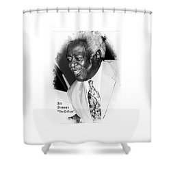 Bill Pinkney Of The Drifters Shower Curtain