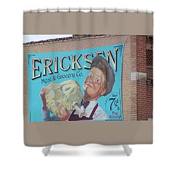Billboard Shower Curtain