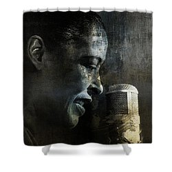 Billie Holiday - All That Jazz Shower Curtain