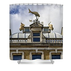Billingsgate Fish Market London Shower Curtain