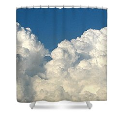 Billowing Clouds 1 Shower Curtain by Rose Santuci-Sofranko