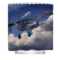 Billy Bishop - Wwi Ace Pilot Shower Curtain by Ken Morris