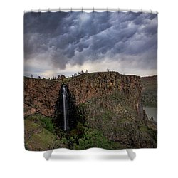 Billy Chinook Falls Shower Curtain