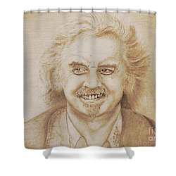 Billy Connolly Shower Curtain