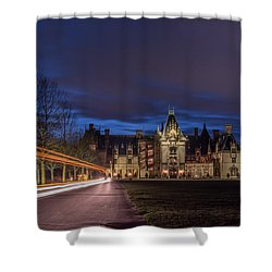 Shower Curtain featuring the photograph Biltmore - 4 by Joye Ardyn Durham