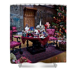 Biltmore Christmas   Shower Curtain