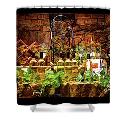 Biltmore Wine Shower Curtain by Savannah Gibbs