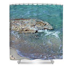 Bimini After Wave Shower Curtain