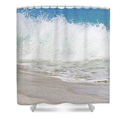 Bimini Wave Sequence 2 Shower Curtain