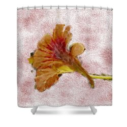 Bindweed Paiterly 1.  Shower Curtain by Leif Sohlman