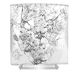 Biology Of An Idea Shower Curtain