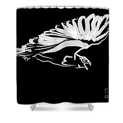 Bird Buzzard  Shower Curtain