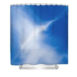 Shower Curtain featuring the photograph Bird Cloud by Yulia Kazansky