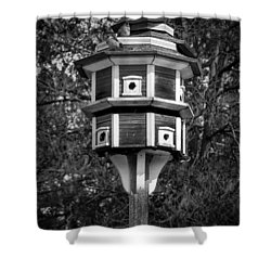 Bird House Shower Curtain