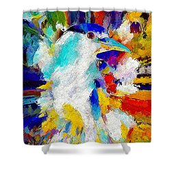 Bird In Paridise Shower Curtain
