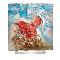 Bird Song Shower Curtain