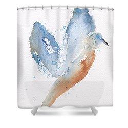 Bird Takes Flight  Shower Curtain by Frank Bright