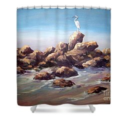 Bird Watching Shower Curtain