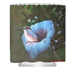 Birds' Eye View Shower Curtain